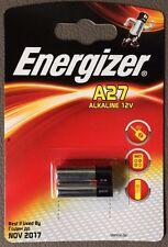 2er Pack Alkaline batería Energizer 12v voltios a27 27a mn27 8lr50