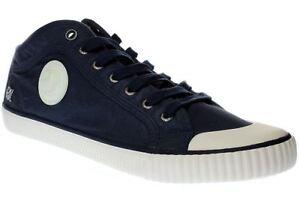 Détails sur Pepe Jeans London Industry Studio Chaussures Hommes Sneaker pms30335 595 Navy afficher le titre d'origine