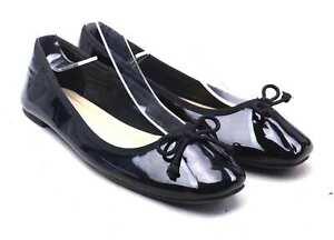 Marks-amp-Spencer-Womens-UK-Size-3-Black-Dolly-Shoes