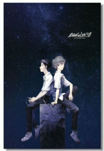 Poster Neon Genesis Evangelion EVE Ayanami Asuka Japan Anime Club Print 538