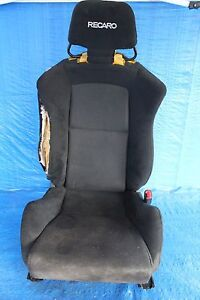 2008 08 mitsubishi evolution x oem rh passenger recaro. Black Bedroom Furniture Sets. Home Design Ideas