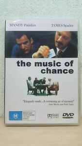 The-Music-Of-Chance-DVD-Rare-Australia-M-REGION-4-NEW-SEALED-JAMES-SPADER