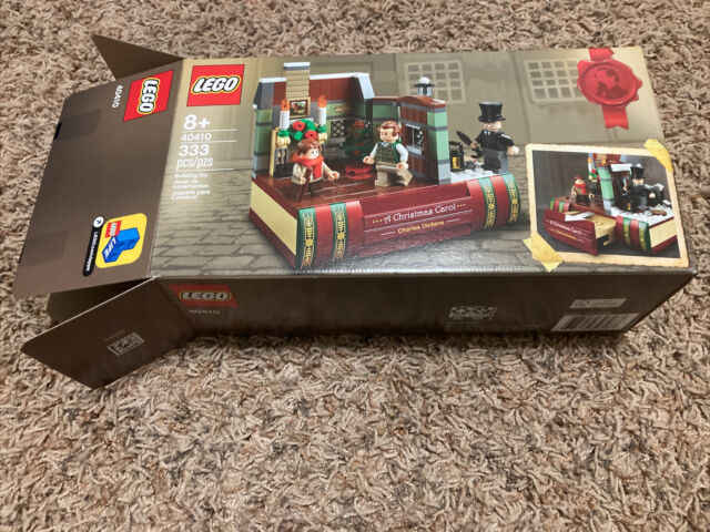 LEGO 40410 Charles Dickens A Christmas Carol Tribute Exclusive - BOX ONLY NO SET