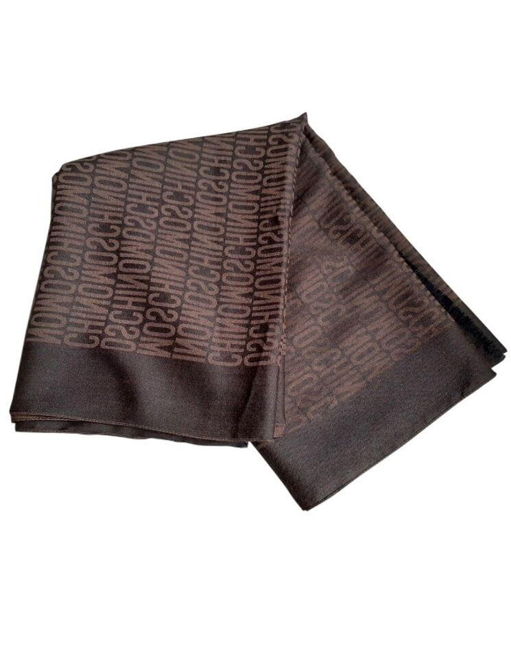 Tørklæde, Moschino, str. 172 x 64