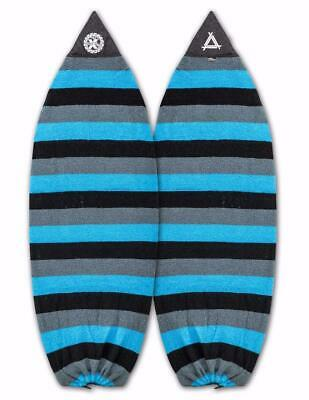 "New Triple X 4/' 6/"" Wakesurf//Shortboard Surfboard Sock//Rasta Colors"