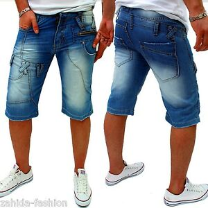 Zahida-Men-039-s-Capri-Jeans-Shorts-Kosmo-Style-Shorts-Blue-NEW-BERMUDA-r-b-2-1