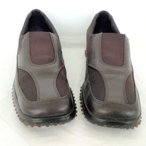 152e7e0b89b 3 of 6 Womens Loafer size 8 B 39 EU Brown Leather Shoes Driving PAZZO PLAY