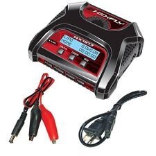 Hexfly HX-403 Dual Port 2S/3S/4S LiPo Battery Charger TR-MT8E BE6S & TR-MT8E