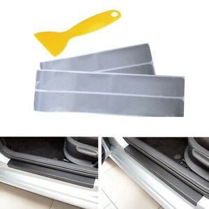 4x-Car-Accessories-Door-Sill-Scuff-Pedal-Protect-Stickers-Universal