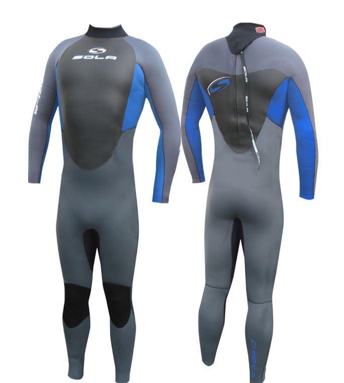Sola Fusion GBS 5 4 3 MM Neopreen mannens Winter Wetsuit Surfen JetSki