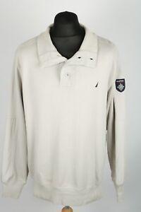 Vintage-NAUTICA-Cotton-Sweatshirt-Mens-L-Sweater-Retro-Jumper-Nineties-90s