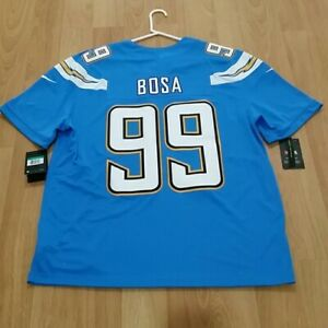 low cost 5364c 25244 Details about NEW Nike NFL LA Chargers Joey Bosa Vapor Untouchable Jersey  Stitched Powder XL