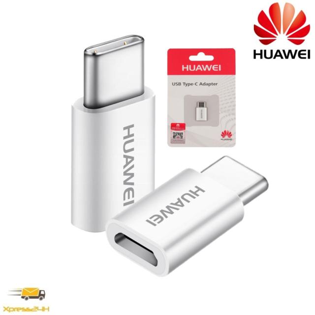 HUAWEI AP-52 ADATTATORE MICRO USB TYPE-C ORIGINALE BLISTER - Posta1PRO
