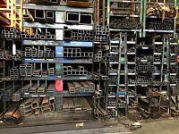 Steel Square Tubing 2-1/2x 2-1/2x 1/4x 72