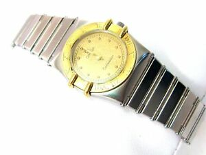 Omega Constellation Gold Face