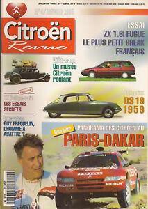 CITROEN-REVUE-4-CITROEN-ZX-RALLYE-RAID-PARIS-DAKAR-CITROEN-DS-19-1959-AUTORAIL