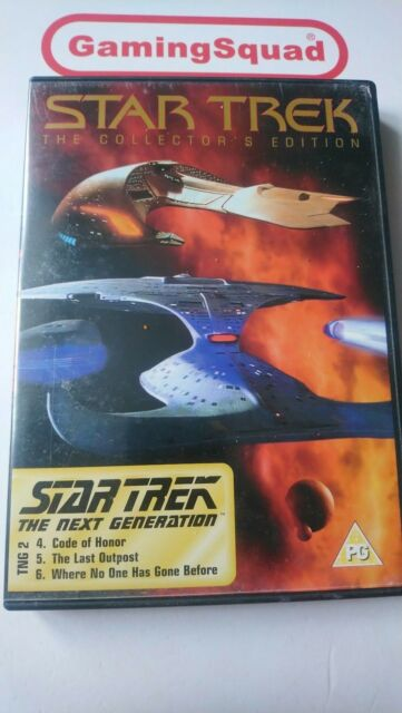 Star Trek The Next Generation Episodes 4 - 6  DVD, Supplied by Gaming Squad Ltd
