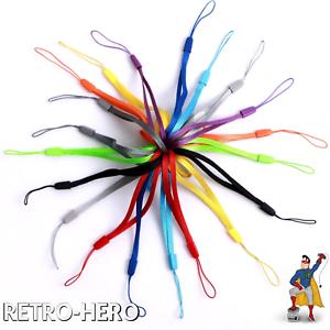 Baumwoll-Handgelenk-Trageschlaufe-13-Farben-Kamera-Handy-Trageband-Haltegurt