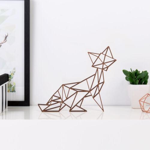 """Kleinlaut 3D-Origami /""""Fuchs/"""" 32 Farben /& 5 Größen Geschenkidee Gebutstag"""