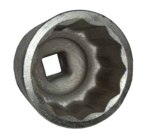 """1/"""" carrée propulsion MASSIF 70 mm 12-Kant Clés à Douille ou noix"""