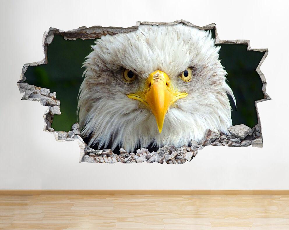 I499 eagle uccelli natura animali rossoti decalcomania della parete