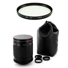 Albinar 500mm f8 Mirror Lens for Nikon D5100 D7000 D200 D100 D80 D70s D80 D3200