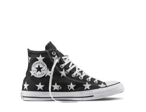 Classic Converse Charms Chuck Taylor All Nere Bianco Star