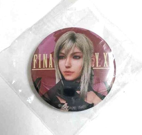 Final Fantasy 15 XV Can Badge Button Aranea Highwind Square Enix Cafe Game F//S