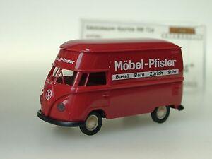 Brekina Vw T1 Mobel Pfister Ch Grossraumkasten 32613 1 87 Ebay