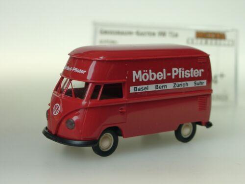 Brekina VW T1 MÖBEL PFISTER// CH GrossraumKasten 32613-1//87