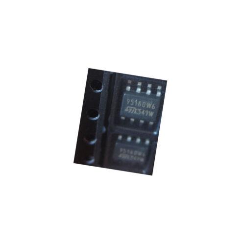 5  PCS NEW M95160 M95160-WMN6T ST IC EEPROM 16KBIT 10MHZ 8SOIC K85