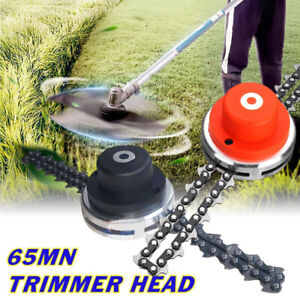 2-Types-65Mn-Trimmer-Head-Coil-Chain-Brush-Cutter-Trimmer-Grass-For-Lawn-Mower