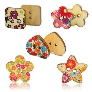 Colores-Boutons-de-fleurs-en-bois-Scrapbooking-bricolage-E3L4