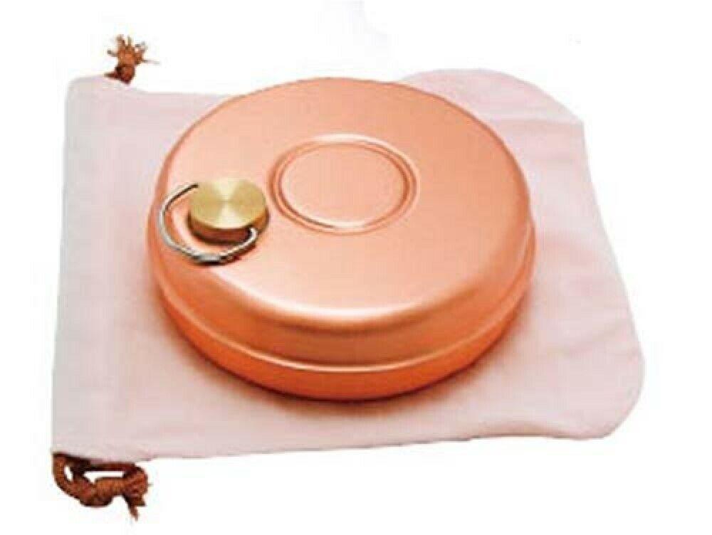 Pure Cuivre japonais yutanpo à eau chaude Sac PETIT LIT warmer marchandises S-9397