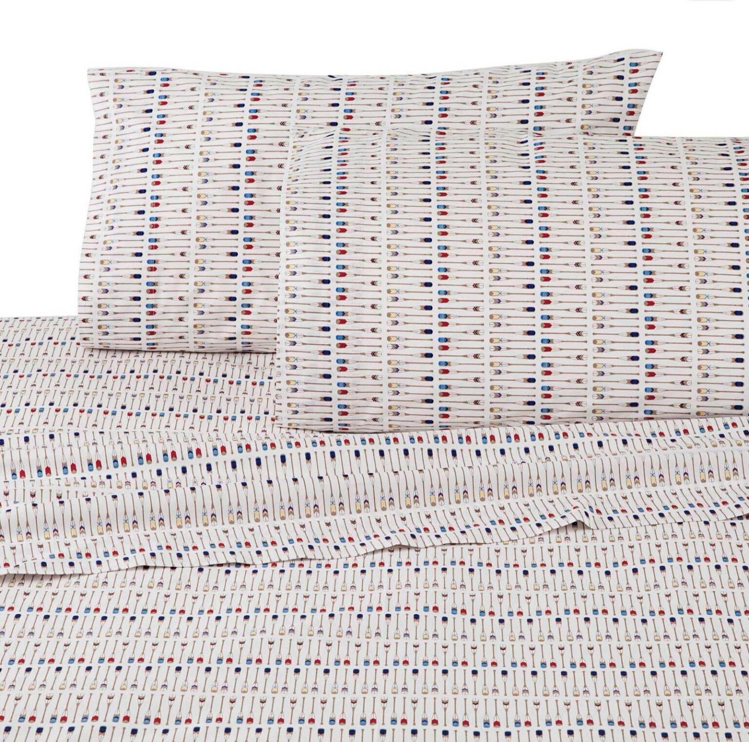 BRAND NEW SOUTHERN TIDE QUEEN Größe SHEET SET PADDLES