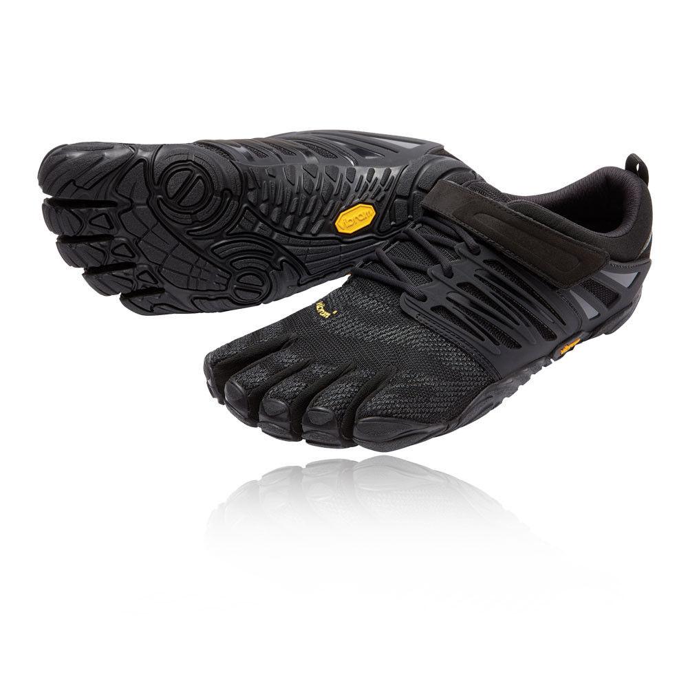Vibram FiveFingers V-Tren Para Hombre Negro Entrenamiento Correr Deportes zapatos Trainers