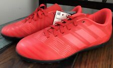 7013e0eb7187 adidas Youth Nemeziz Tango 17.4 Indoor Soccer Shoes Coral Red Bright Size 1