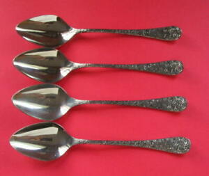 VINTAGE-GRAND-PRIX-STAINLESS-STEEL-ROSE-TAPESTRY-SOUP-SPOONS-4