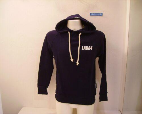 S Cappuccio Chiusa Blu Invernale Felpa Lab84 Uomo Navy Flpm0316 EqP8TW