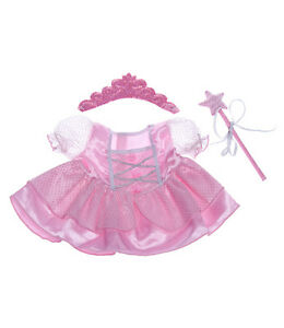 "... Fairy Princess Outfit Teddy bear clothes to fit 15"" build a bear plush"