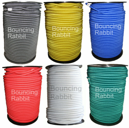 Six Colours 12 mm Thick 10 mm 6 mm 8 mm Elastic élastique Rope Shock Cord Tie Down