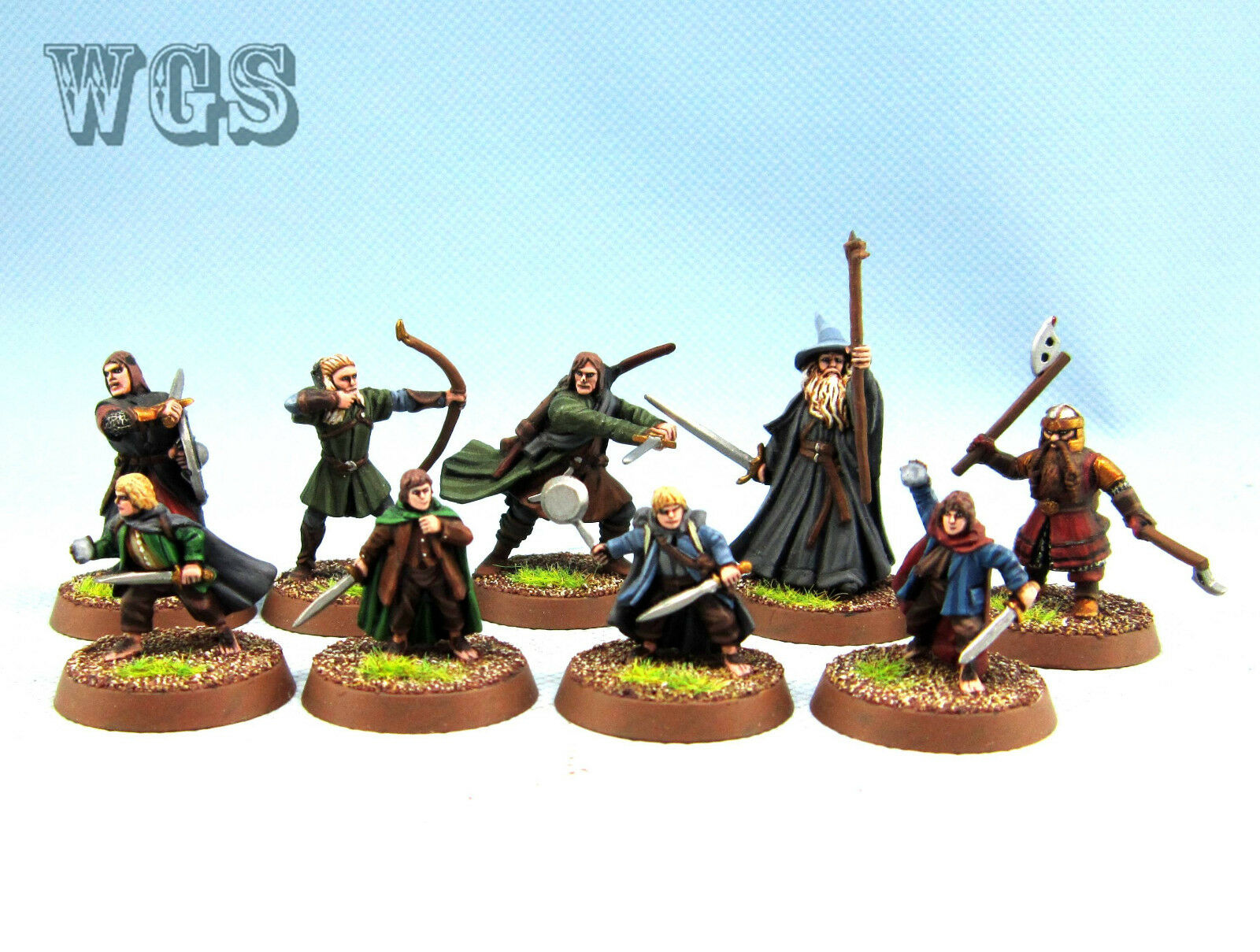 25mm Warhammer LOTR WGS painted The Breaking of the fellowsship A6