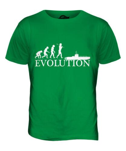 Sous-Marin Evolution de Homme T-Shirt Haut Giftmilitary Marine