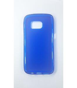 Funda-de-gel-TPU-carcasa-protectora-silicona-para-Samsung-Galaxy-S7-Azul