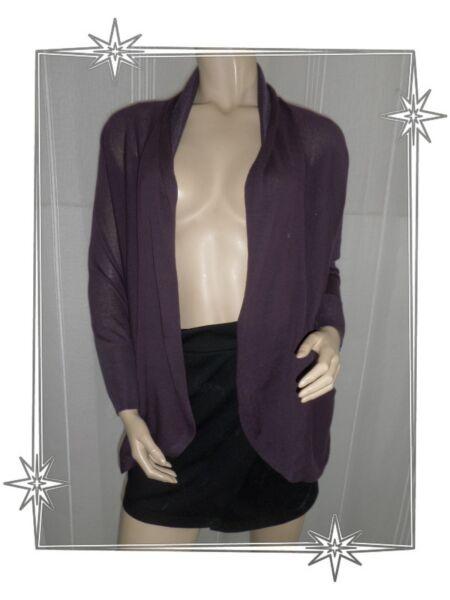 A - Gilet Cardigan Fin Fantaisie Purple Modèle F2timcr Ddp Taille Xs Neuf DesempeñO Confiable