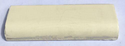 Salvaged 1 Piece 2x6 Vintage Mudcap Tile in Creamy Yellow /'Mosaic/'