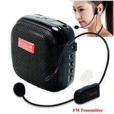 Portable Waistband Voice Booster PA Amplifier Loud Speaker Wireless Q6