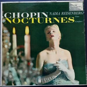 Chopin - Nocturnes, NADIA REISENBERG, Westminster MONO