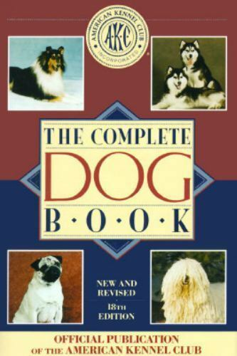 The Complete Dog Book by American Kennel Club AKC (1992) Hardcover Puppies
