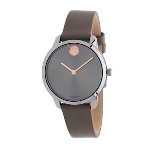 Movado 3600593 Women's Bold Grey Quartz Watch